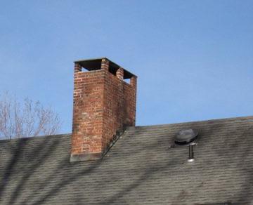 chimney staining
